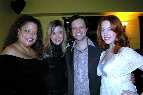 Natalie Douglas, Kate Rockwell, Jim Stanek and Casey Erin Clark