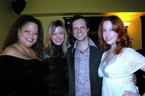 Natalie Douglas, Kate Rockwell, Jim Stanek and Casey Erin Clark Photo