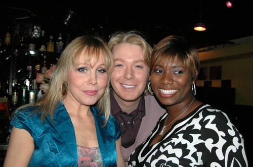Jenny Hill, Clay Aiken and Quiana Parler