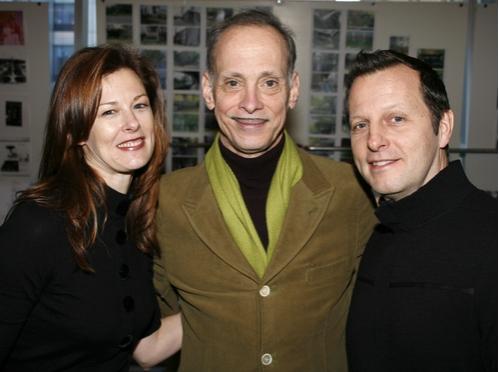 Elan V. McAllister, John Waters and Rob Ashford Photo