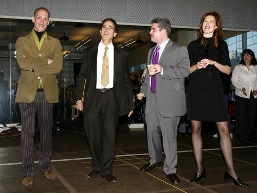 John Waters, Allan S, Gordon (Producer), Adam Epstein (Producer) and Elan V. McAllist Photo