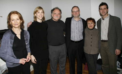 Betty Ann Besch Solinger, Carolyn Cantor, Willy Holtzman, Andrew Leynse, Nancy Copperstein and Elliot Fox