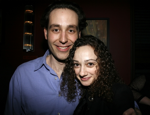 Michael Minarik and Megan McGinnis