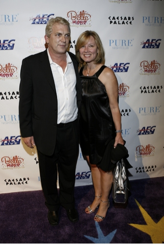 AEG Live CEO John Meglen with his wife Kerry Meglen
