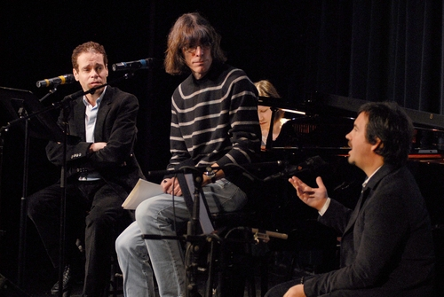 Steven Sater, David Fricke and Duncan Sheik