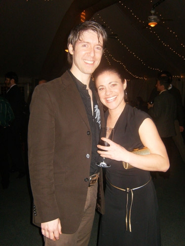 George Keating (Feuilly) and Anne Letscher (Eponine)