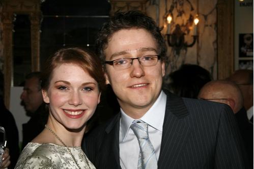 Director Sam Buntrock with Emma Williams