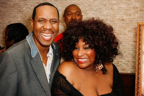 Freddy Jackson and Chaka Khan