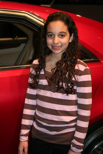 John Lloyd Young's adoring young fan Melissa Perez