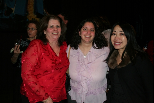 Grace Ruggiero, Dina Chirico and Dina Fong