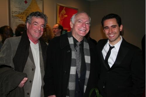 Robert Mickelsen, John Udry and John Lloyd Young