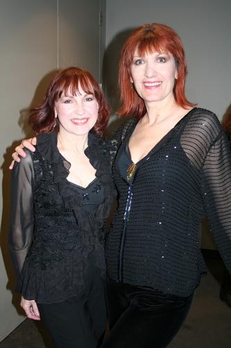 Margaret Dorn (Vocals) and Ula Hedwig (Vocals)