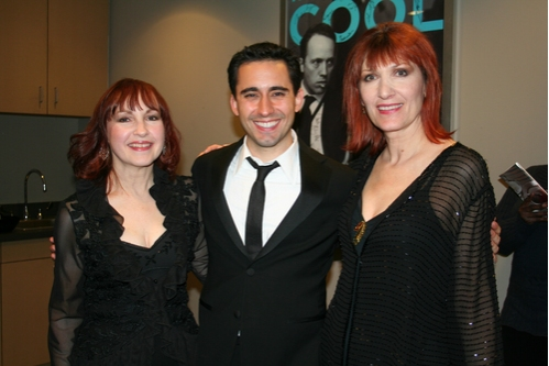 Margaret Dorn, John Lloyd Young and Ula Hedwig