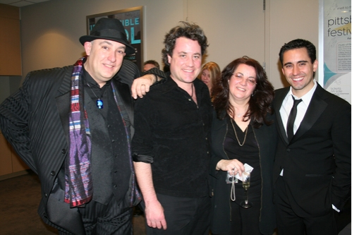 Ed Alstrom (Musical Director, Piano, Vocals and Arrangements), Robert Morris (Guitar, Vocals), Maxine Alstron (Keyboards) and John Lloyd Young