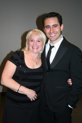 Gail Abrams Young and John Lloyd Young
