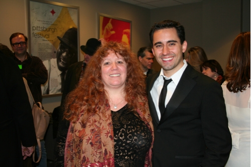 Katie Agresta and John Lloyd Young
