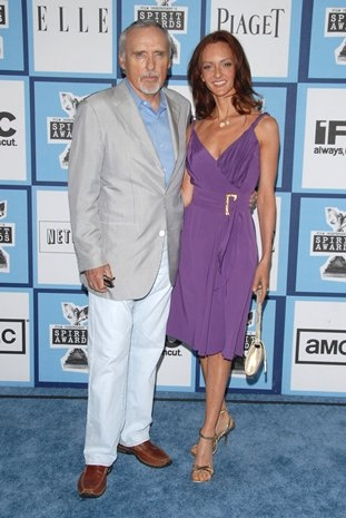 Dennis Hopper and Victoria Duffy