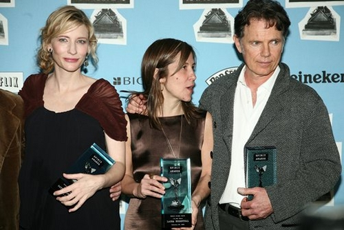 Cate Blanchett and Bruce Greenwood at 23rd Annual Independent Spirit Awards