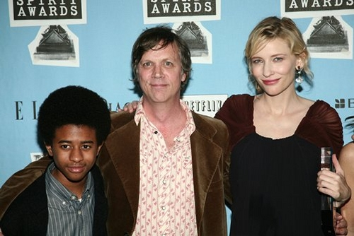 Marcus Carl Franklin, Todd Haynes, and Cate Blanchett at 23rd Annual Independent Spirit Awards