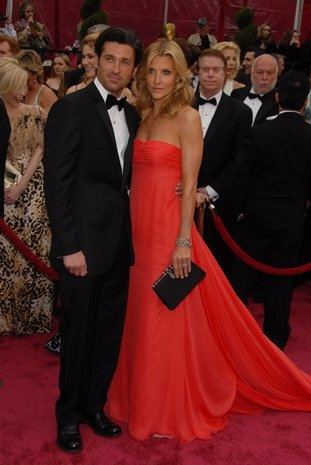 Patrick Dempsey and Jill Fink