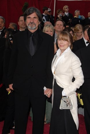 Jack Fisk and Sissy Spacek