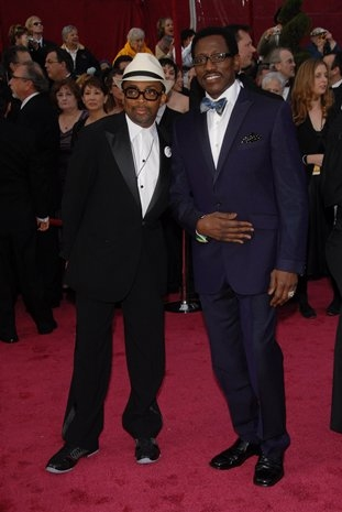 Spike Lee and Wesley Snipes