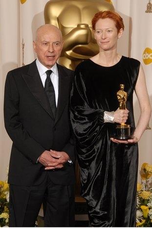 Alan Arkin and Tilda Swinton at 80th Annual Academy Award Winners!