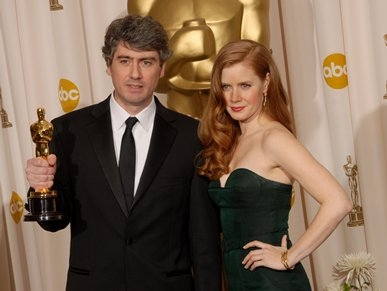 Dario Marianelli and Amy Adams