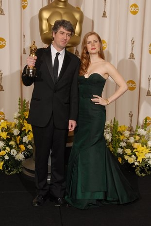 Dario Marianelli and Amy Adams