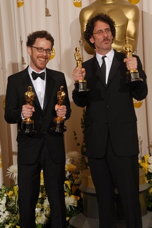 Ethan Coen and Joel Coen at 80th Annual Academy Award Winners!