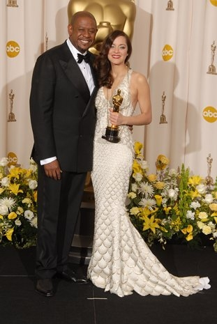 Forrest Whitaker and Marion Cotillard