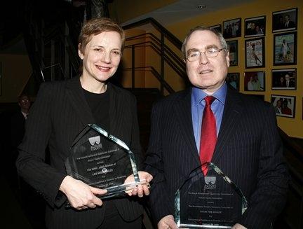 Tara Rubin and Todd Haimes
