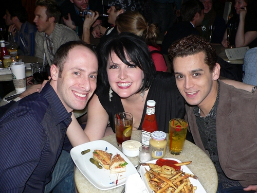 Jeremy Katz, Natalie Joy Johnson, and Michael Longoria