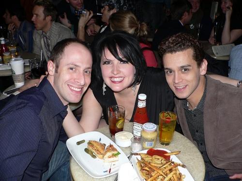 Jeremy Katz, Natalie Joy Johnson, and Michael Longoria