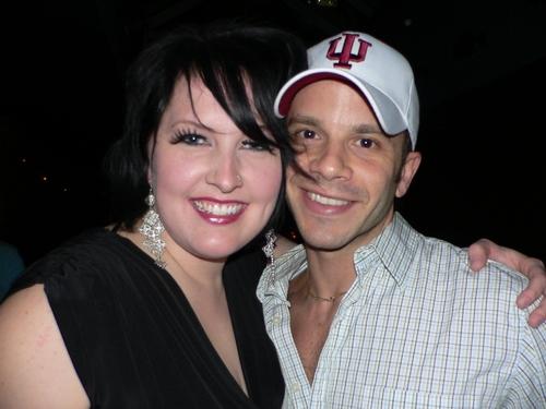 Natalie Joy Johnson and Nick Kenkel
