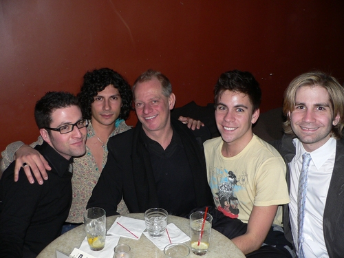 Ben Rimalower, Joey Passavanti, Kevin Krier, Cameron Brady Stewart and Jason Courson