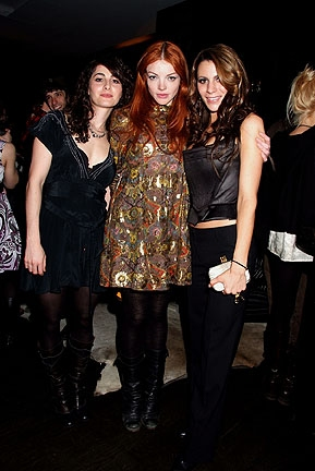 Jessica Kaye, Nicole LaLiberte and Diane Passage