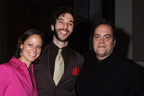 Stephanie Sertich, Michael Domitrovich and Eduardo Machado