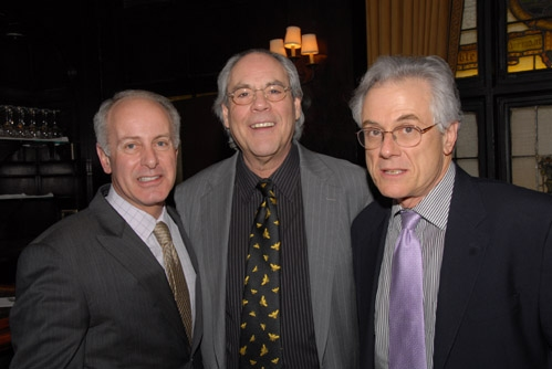 Joseph Benincasa, Robert Klein and Jeffrey Lyons
