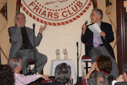 Robert Klein and Jeffrey Lyons