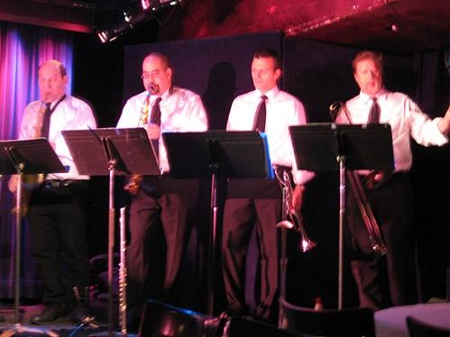 l-r: Jack Bashkow, Matt Hong, David Spier and Larry Farrell