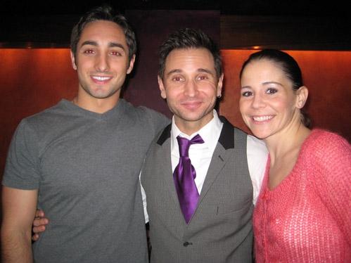 Eric Schneider, Travis Cloer and Sara Schmidt
