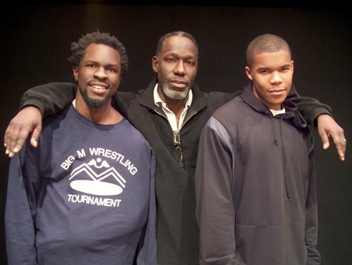 Gbenga Akinnagbe, Gaius Charles and James McDaniel
