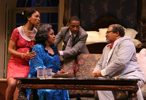 Lisa Arrindell Anderson, Phylicia Rashad, Giancarlo Esposito and Count Stovall Photo