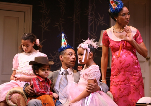 Heaven Howard, Skye Jasmine Allen-McBean, Giancarlo Esposito, Marissa Chisolm and Lisa Arrindell Anderson