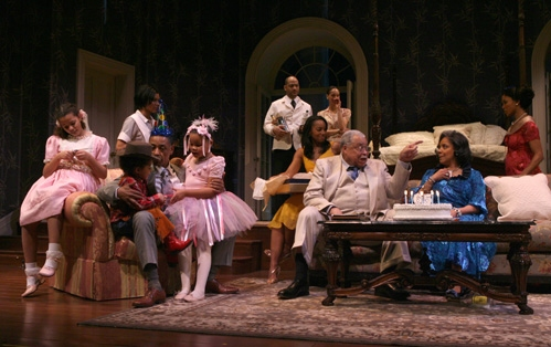 Heaven Howard, Skye Jasmine Allen-McBean, Giancarlo Esposito, Marja Harmon, Marissa Chisolm, Clark Jackson, Bethany Butler, Anika Noni Rose, James Earl Jones, Phylicia Rashad and Lisa Arrindell Anderson at 'Cat on a Hot Tin Roof'
