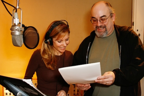 Kerry Butler and Michael Starobin at Kerry Butler Records 'Faith, Trust & Pixie Dust'
