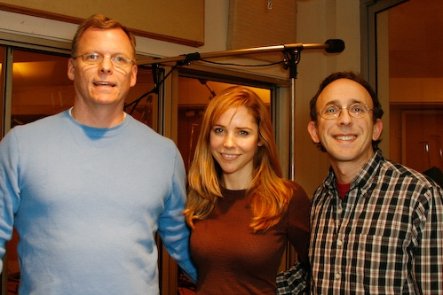 PS Classics Philip Chaffin and Tommy Krasker flank Kerry Butler