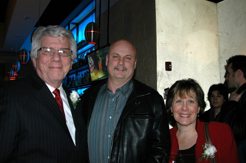 Jack W. Batman, John Harwood, Gina Harwood (Commissioner of Finance in White Plains)
