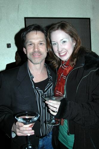 Greg Schaffert (WPPAC Board Member and Producer) and daughter
